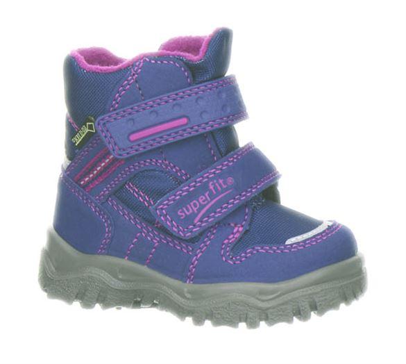 Billede af Superfit små vinterstøvler, lilla/pink