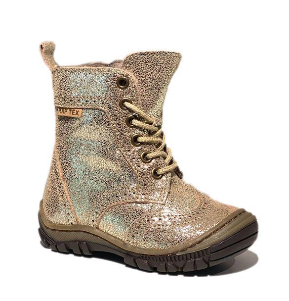 Billede af Arauto RAP vinterstøvler med snøre/lynlås, guld