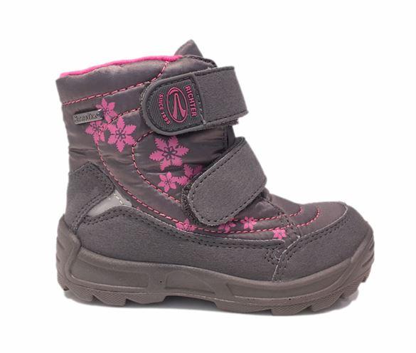 Billede af Richter 2031 241/831 vinterstøvler, grå/pink