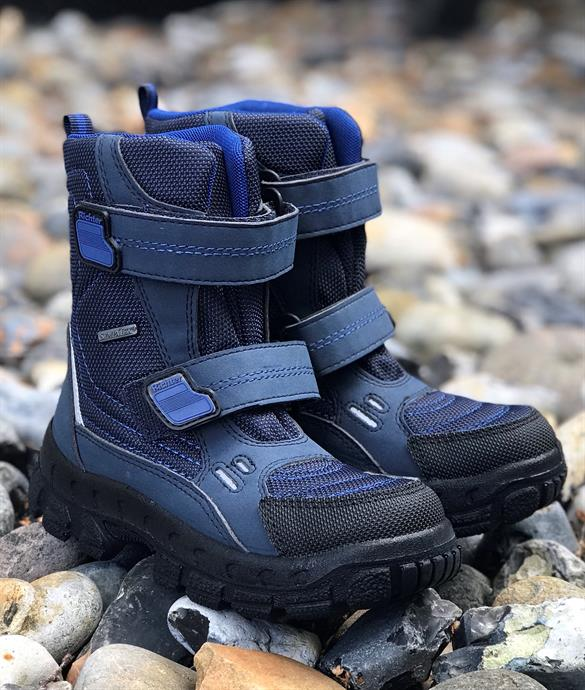 Richter 7931 drengestøvle, mørkeblå