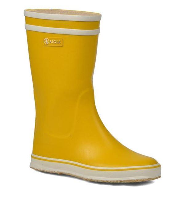 Aigle Lollypop smalle gummistøvler, gul