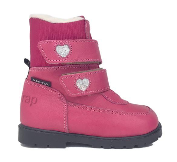 Billede af Arauto RAP klassiske pink velcro vinterstøvler