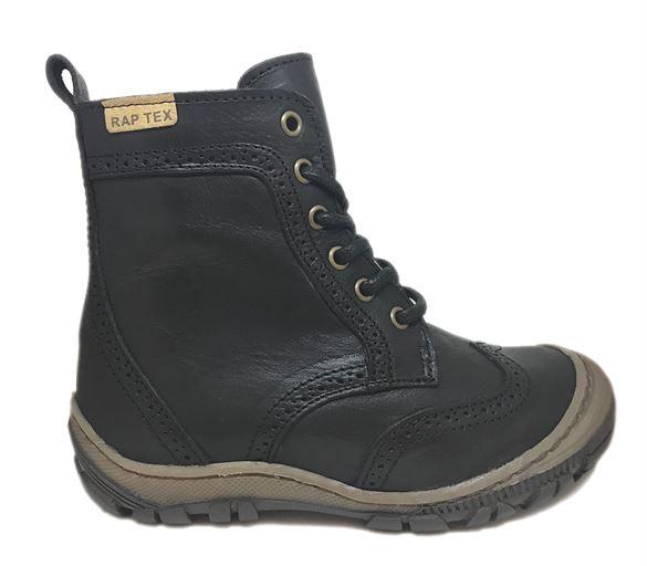 Arauto RAP vinterstøvler med snøre/lynlås, sort