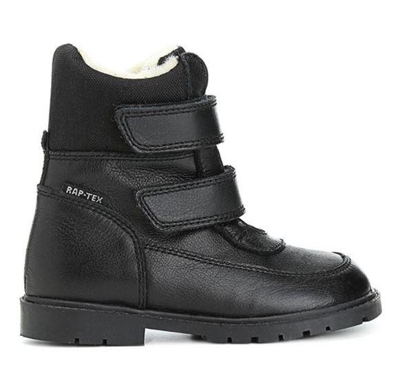 Arauto RAP klassiske sort velcro vinterstøvler