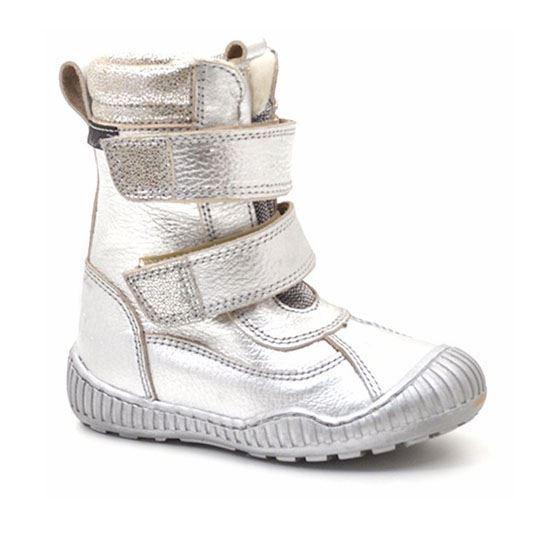 Arauto RAP sølv vinterstøvler med velcro