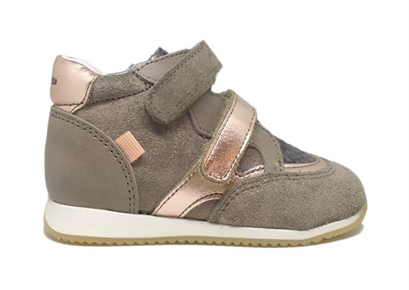 Image of   BabyBotte Aerobik, sneakers, sand/gylden