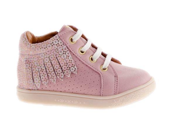 Billede af BabyBotte Apash pigesko m/lynlås, rosa
