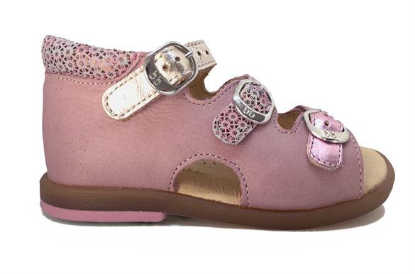 Billede af BabyBotte sandal Tik, rosa/guld