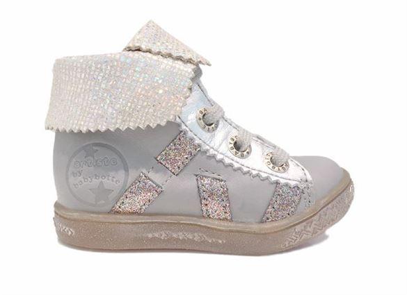BabyBotte Artimiss pigesko, grå/gimmer