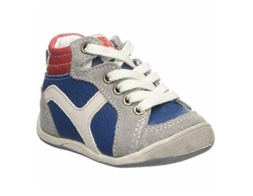 Billede af BabyBotte drenge sneakers Funambule, snøresko, blå