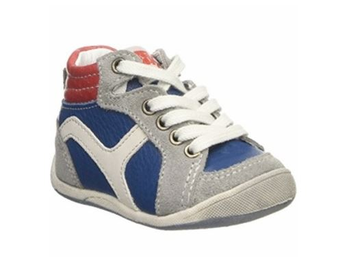 Image of   BabyBotte drenge sneakers Funambule, snøresko, blå