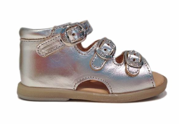BabyBotte sandal Tik, sølv