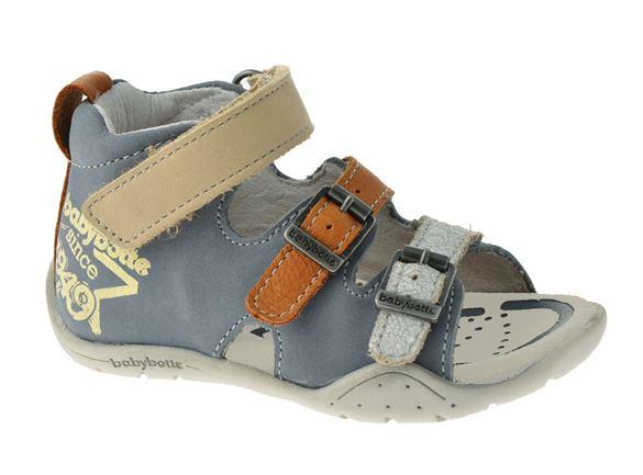 Billede af BabyBotte sandal Tiptop, grå