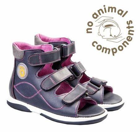 Memo Betti sandal, navy - sandaler med ekstra støtte