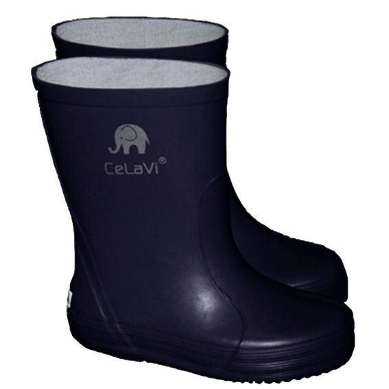 Image of CeLaVi smalle gummistøvle, mørkeblå (CeLaVi-gummistoevler-darkNavy)