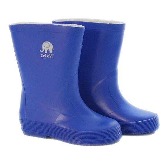 CeLaVi smalle gummistøvle, kobolt blå