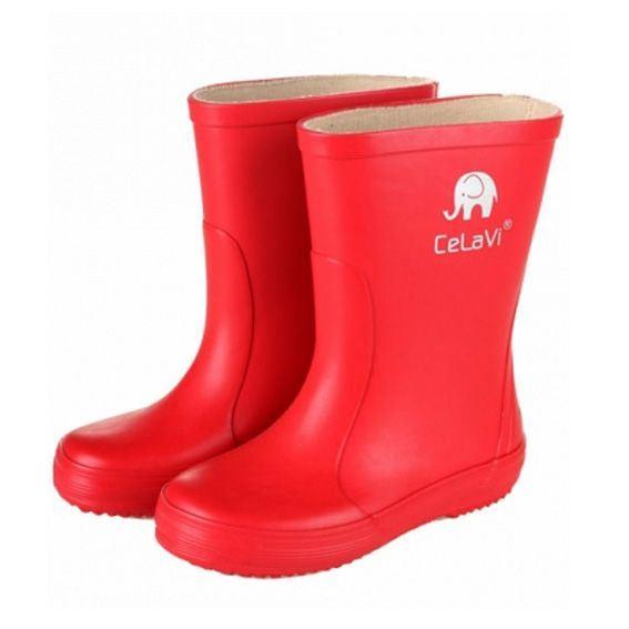 CeLaVi smalle gummistøvle, rød