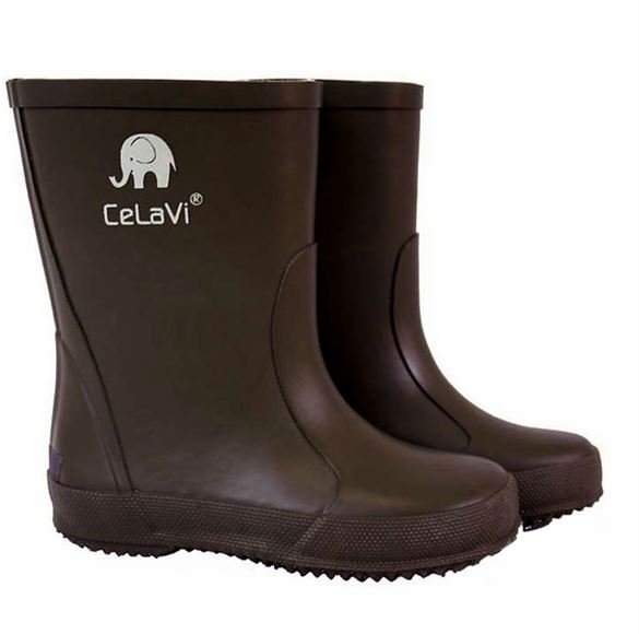Image of   CeLaVi smalle gummistøvle, brun