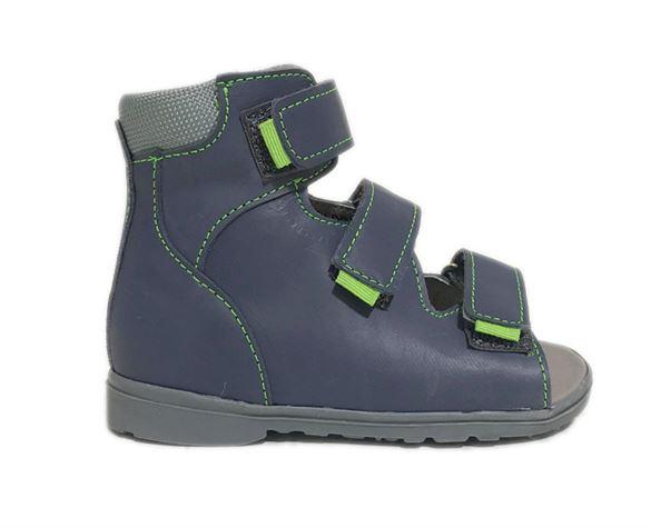 Image of Dawid sandal, navy - sandal med ekstra støtte (Dawid-sandal-navy-950-G)