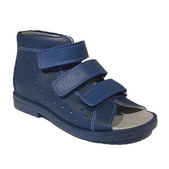 Image of Dawid sandal, navy - sandal med ekstra støtte (Dawid-sandal-navy-1042-166)