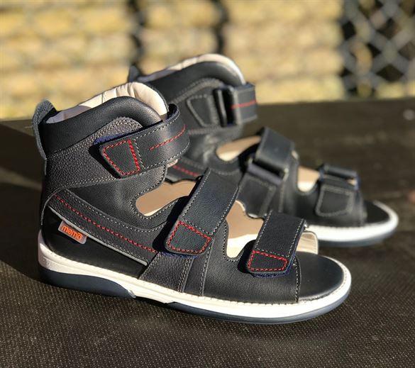 Image of Memo Hermes sandal, navy blue - sandal med ekstra støtte (Memo-Hermes-Navyblue)