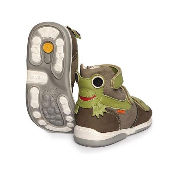 Memo sandal Frø, grøn - sandaler med ekstra støtte