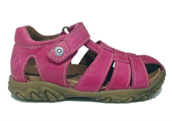 Naturino Gene sandaler med lukket hæl og tå, pink