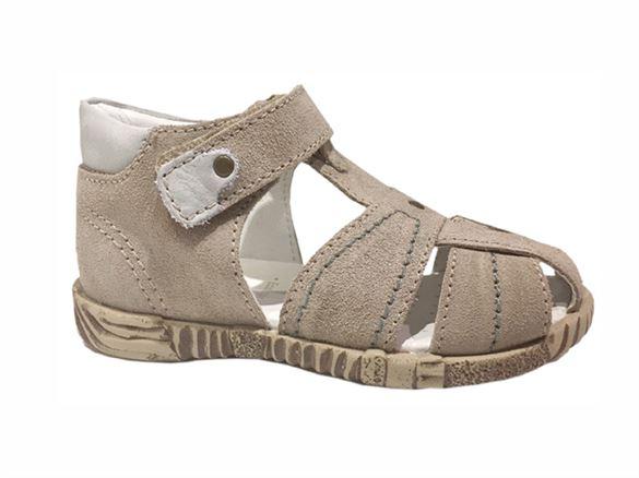Primigi 70411 sandal med lukket hæl og snude, beige