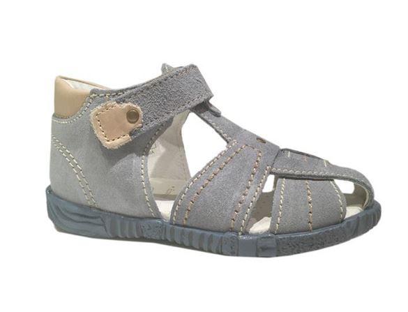 Image of   Primigi 70410 sandal med lukket hæl og snude, lyseblå