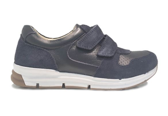 Image of   Arautorap (RAP) sneakers, velcrosko, mørkeblå