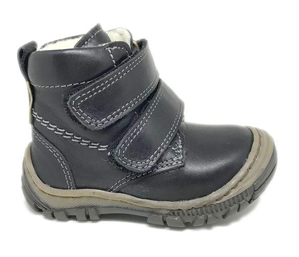 Arautorap (RAP) velcro vinterstøvler, sort