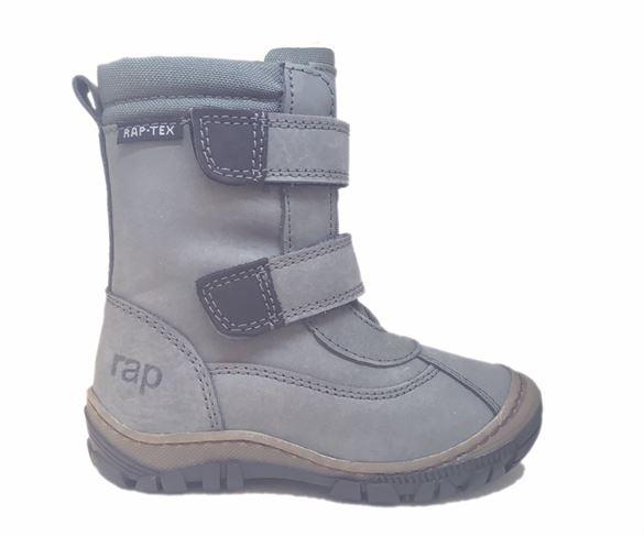 Image of   Arauto RAP vinterstøvler med velcro, grå
