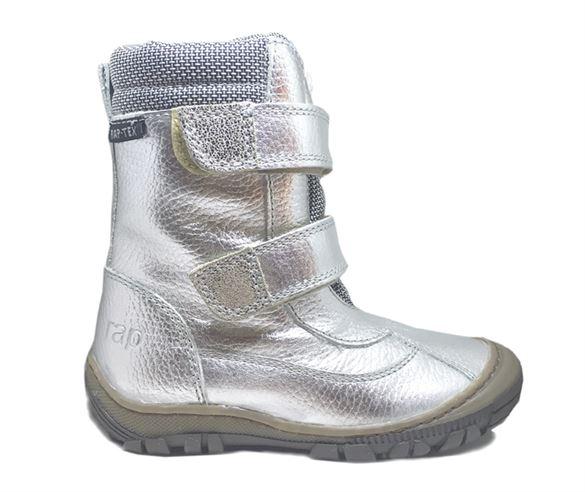 Billede af Arauto RAP sølv vinterstøvler med velcro