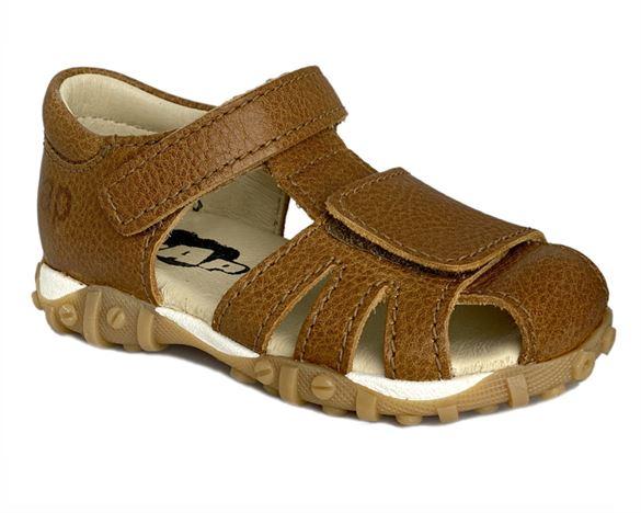 Image of   Arauto RAP sandal med lukket hæl, cognac