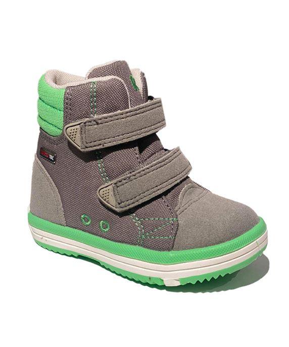 Image of Alternativ til gummistøvler - med god støtte, grå (Reima-Patter-graa-neon)