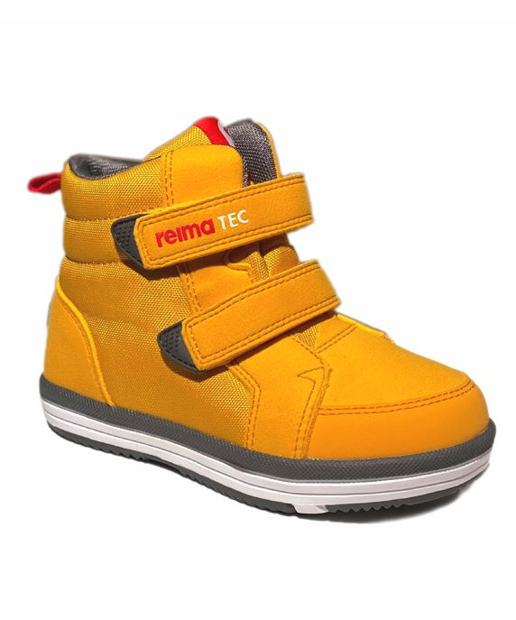 Image of Alternativ til gummistøvler - med god støtte, ochre gul (Reima-Patter-ochre-gul-FW20-24)