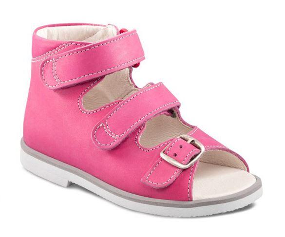 Richter pigesandal, pink - pigesandal med ekstra støtte
