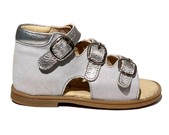 Sandal ´ala BabyBotte´, silver cass