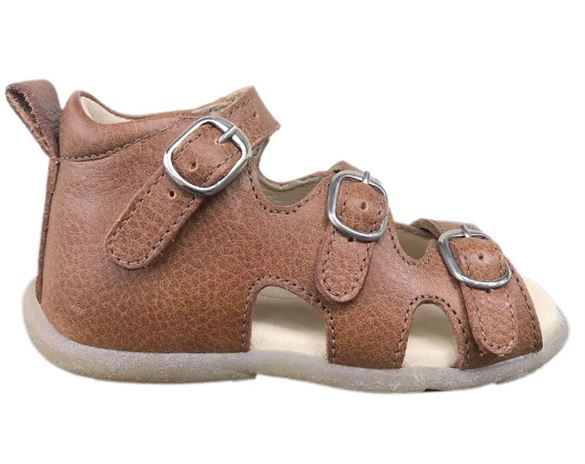 Image of Sandal 'ala BabyBotte', cognac (Rap-12175-02-cognac-25)