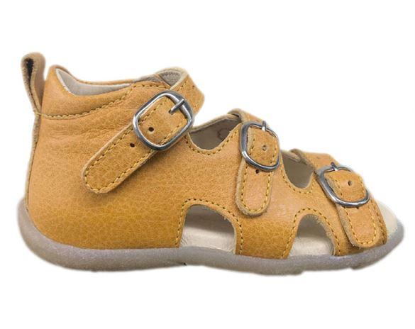 Image of Sandal 'ala BabyBotte', gul (Rap-12175-01-gul-22)