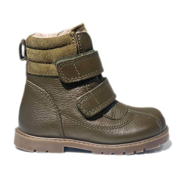 Arauto RAP velcro vinterstøvler, kaki