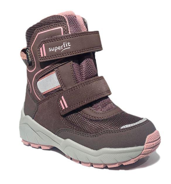 Superfit vinterstøvler m/Goretex, støvet lilla/rosa