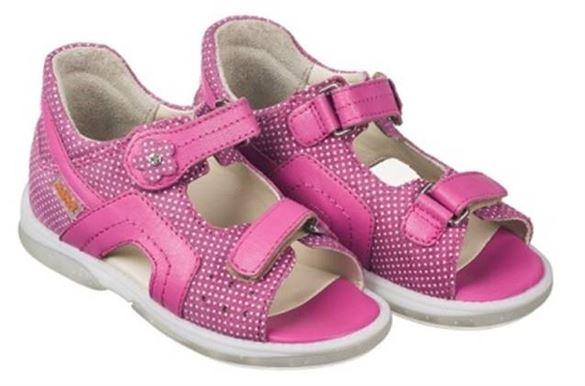 Billede af Memo Szafir sandal, pink - sandal med ekstra støtte (special edition)