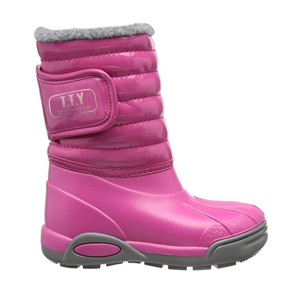 Billede af TTY Xiver foret gummistøvle, pink