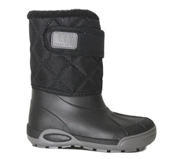 Billede af TTY Xtreme foret gummistøvle, sort