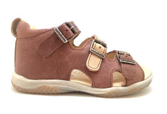 BabyBotte sandal Torvald, brun/sand
