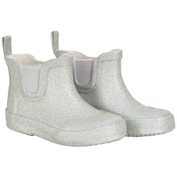 Image of   CeLaVi lave, smalle gummistøvler, sølv glitter