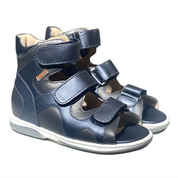 Memo Joanna sandal, navy - sandaler med ekstra støtte