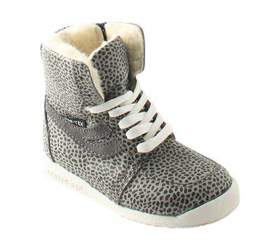 Image of   Arautorap (RAP) sporty vinterstøvler, grå leopard