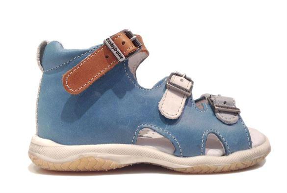 Billede af BabyBotte sandal Torvald, jeansblå